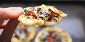 pizza con masa madre