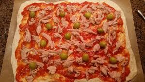 pizza con masa madre thermomix