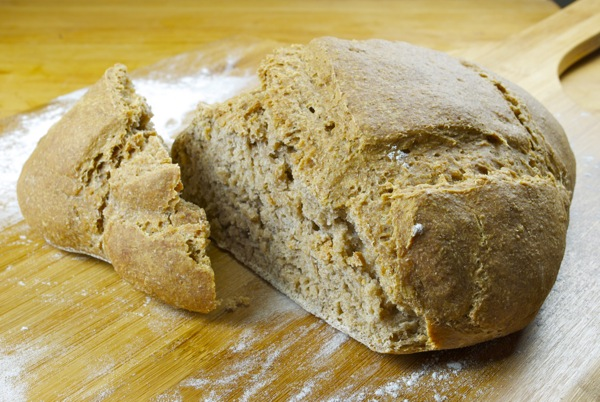 receta pan arabe con masa madre