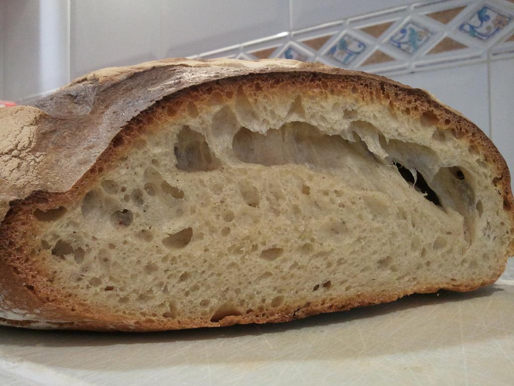 receta pan de arroz con masa madre