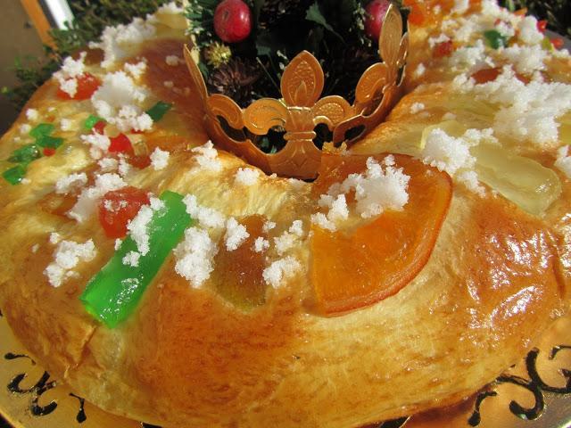 roscon de reyes con masa madre el foro del pan
