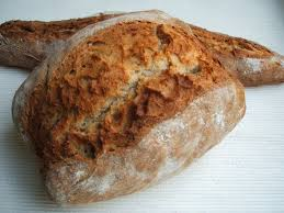 receta pan baguette masa madre