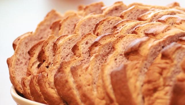 pan de centeno con masa madre thermomix