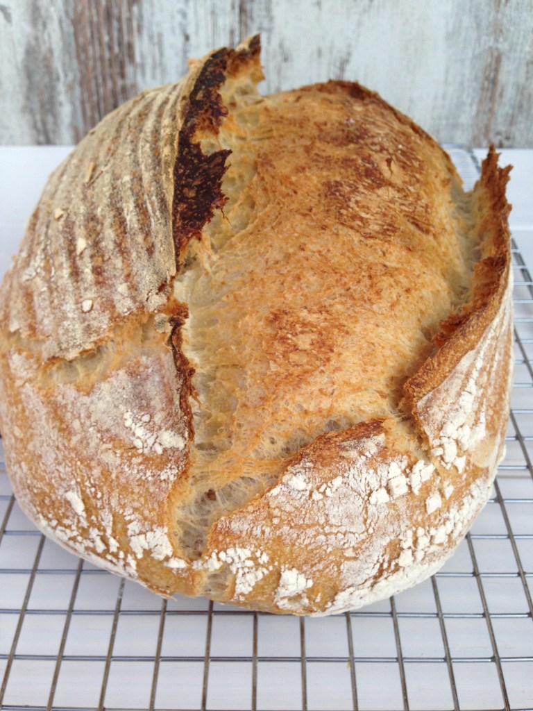 pan de centeno con masa madre receta