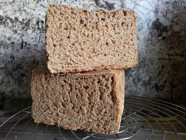 hacer pan de centeno con masa madre