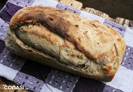 receta pan blanco con masa madre
