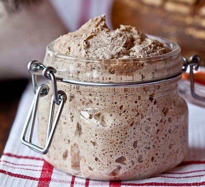 receta pan con masa madre natural