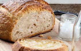 receta pan casero masa madre