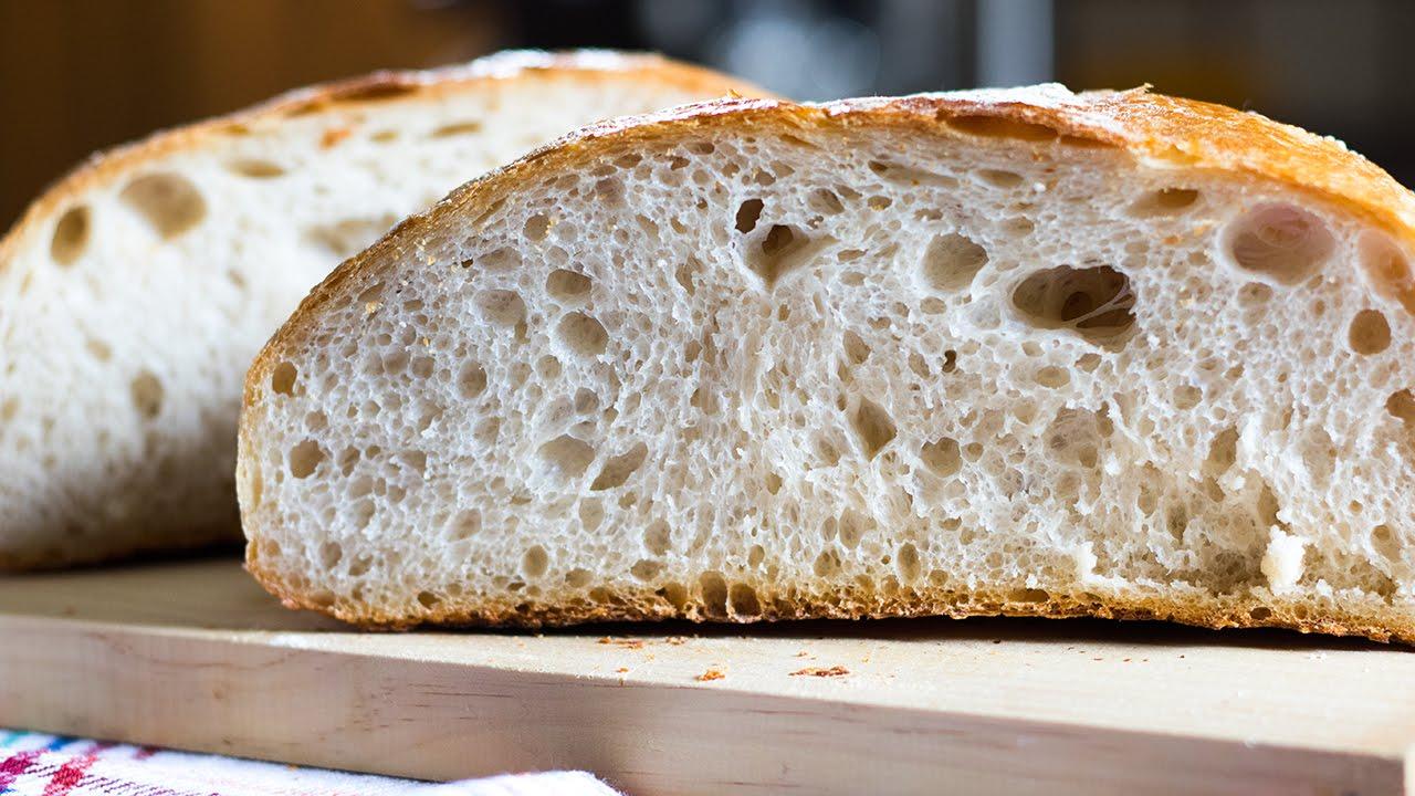 receta pan con masa madre thermomix