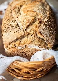 receta pan con masa madre en panificadora