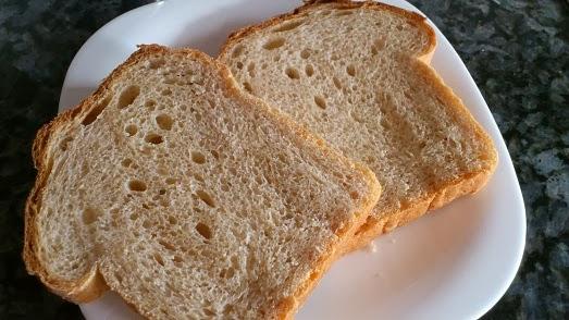 receta pan integral con masa madre
