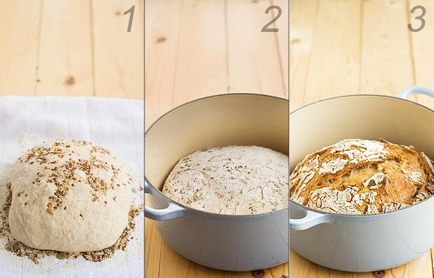 receta de pan de centeno con masa madre